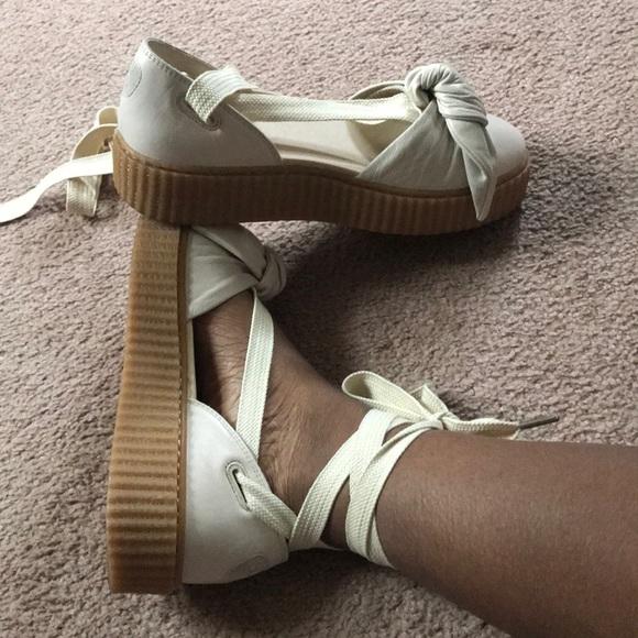 innovative design b644f 5990d Rihanna fenty sandals
